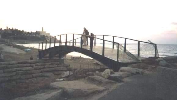 גשר טיילת תל אביב תמונה מספר 1