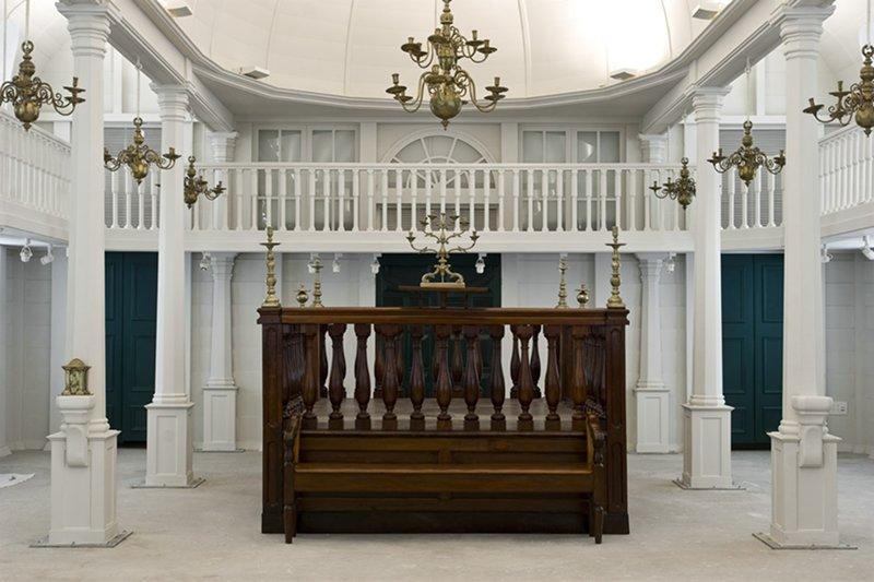 בית הכנסת סורינאם מוזיאון ישראל תמונה מספר 4