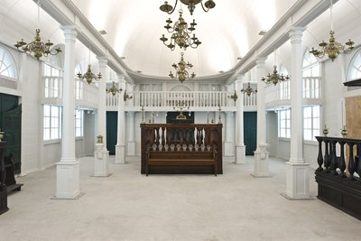 בית הכנסת סורינאם מוזיאון ישראל תמונה מספר 5
