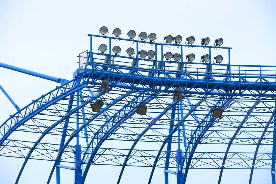 אצטדיון טדי - קירוי פלדה תמונה מספר 8