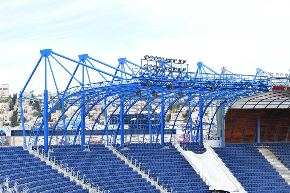 אצטדיון טדי - קירוי פלדה תמונה מספר 9