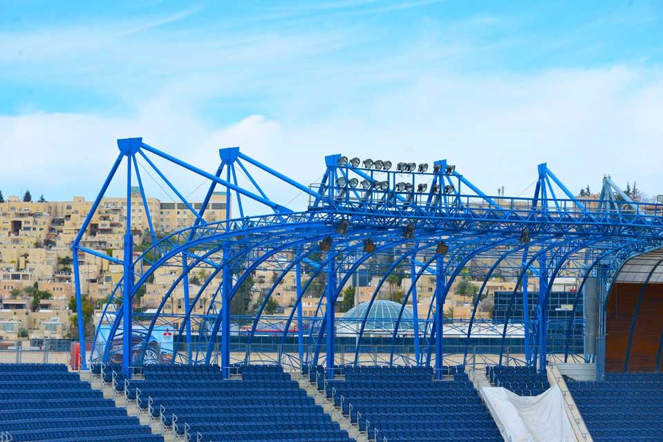 אצטדיון טדי - קירוי פלדה תמונה מספר 7