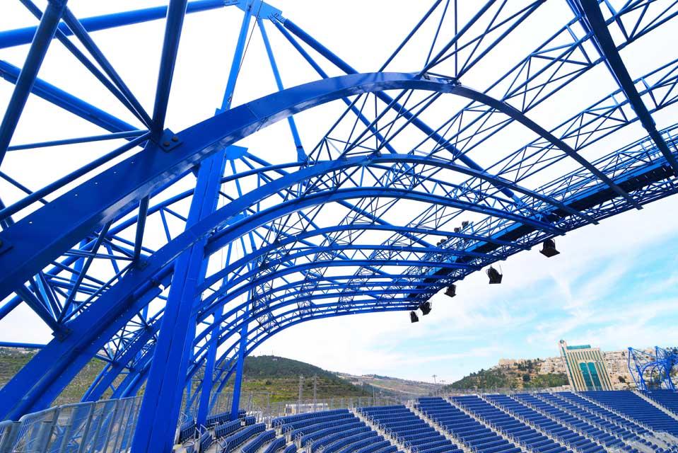 אצטדיון טדי - קירוי פלדה תמונה מספר 6