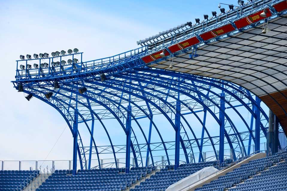 אצטדיון טדי - קירוי פלדה תמונה מספר 4