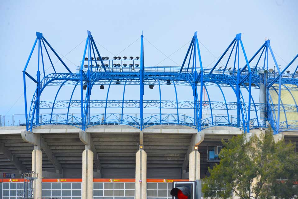 אצטדיון טדי - קירוי פלדה תמונה מספר 14