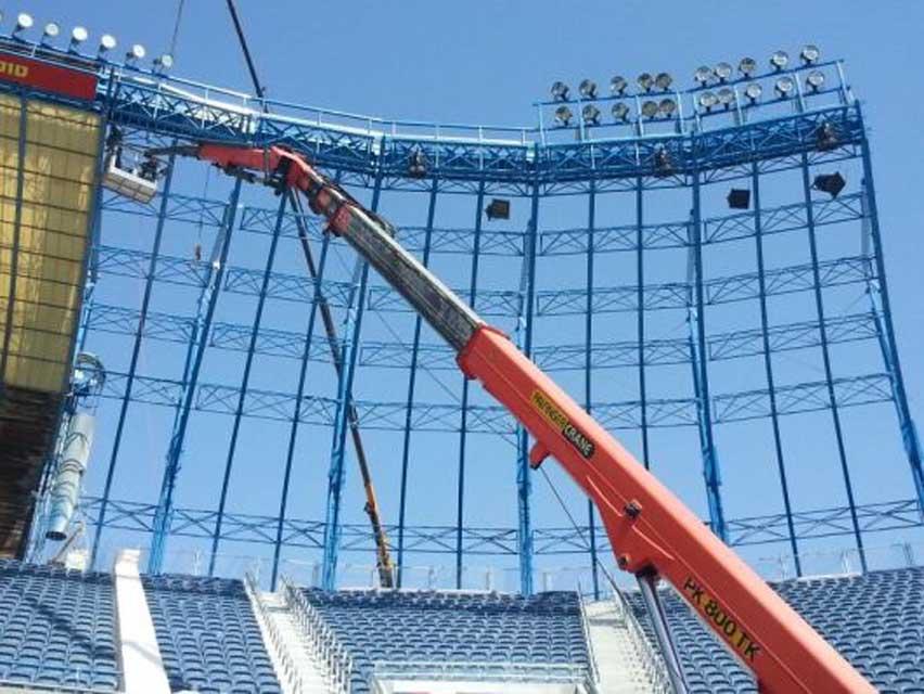 אצטדיון טדי - קירוי פלדה תמונה מספר 2