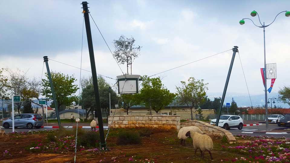 פסל סביבתי-מבשרת ציון תמונה מספר 4