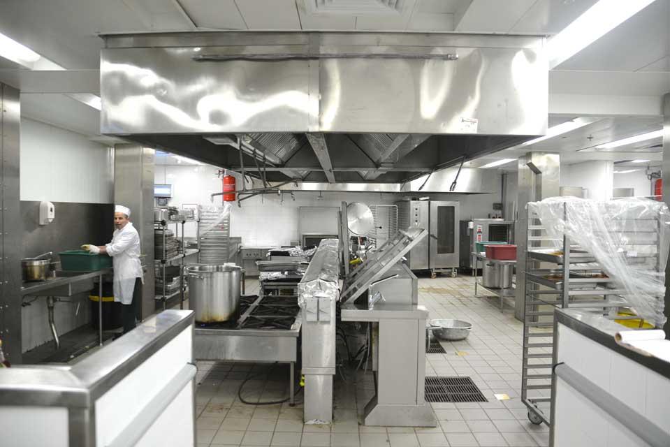 מסודר מלון C HOTEL, נווה אילן-בניית מטבח תעשייתי KJ-59