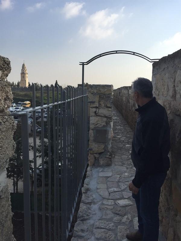 שיקום טיילת חומות העיר העתיקה, ירושלים תמונה מספר 25