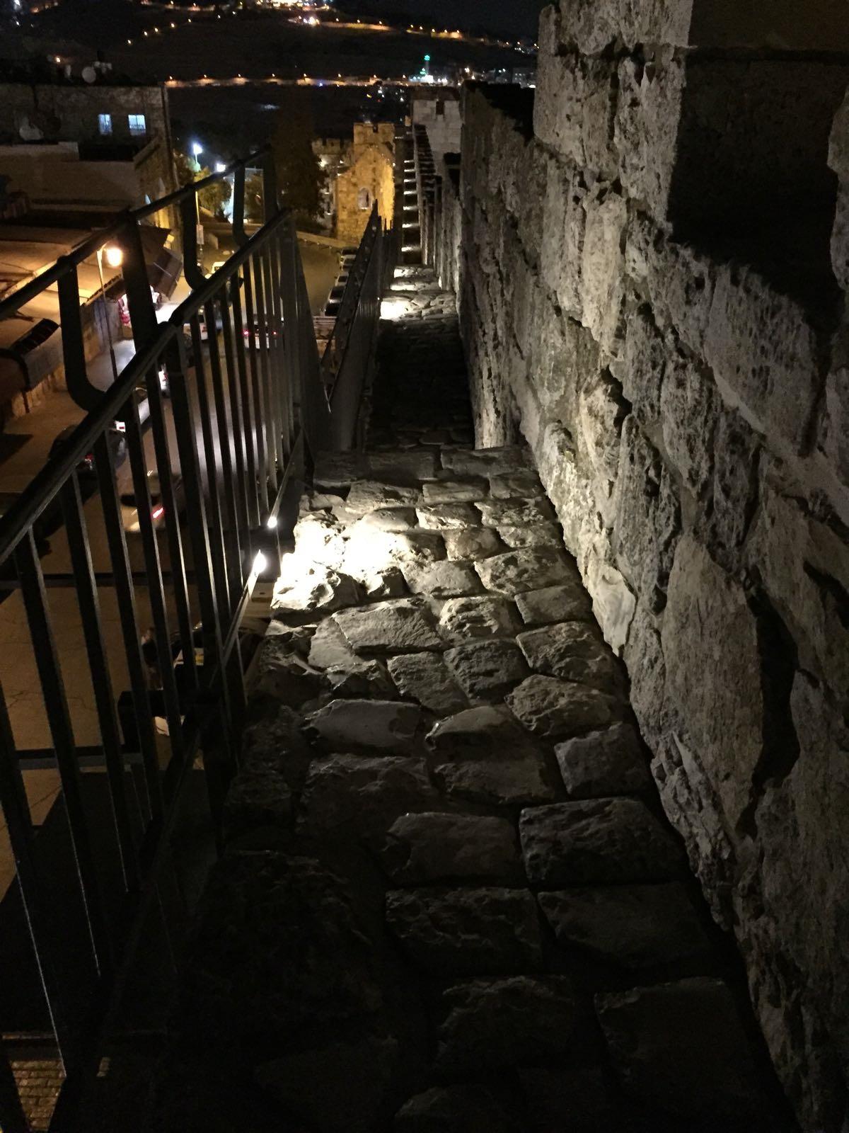 שיקום טיילת חומות העיר העתיקה, ירושלים תמונה מספר 11