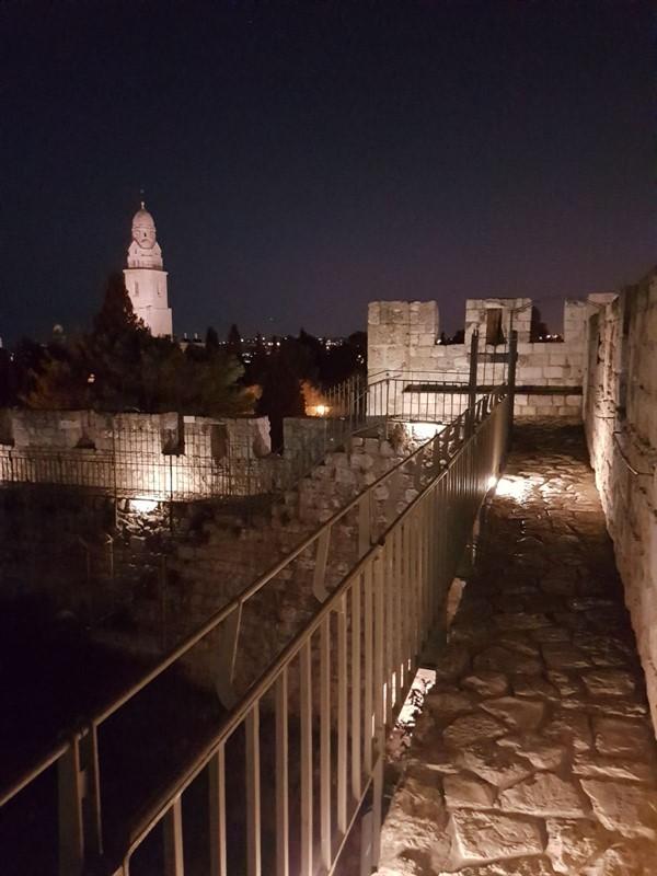שיקום טיילת חומות העיר העתיקה, ירושלים תמונה מספר 9