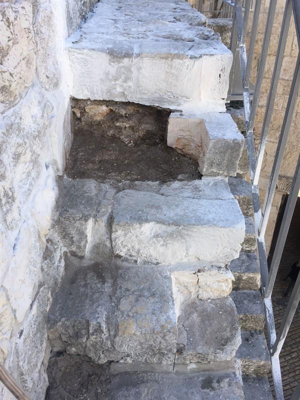 שיקום טיילת חומות העיר העתיקה, ירושלים תמונה מספר 23