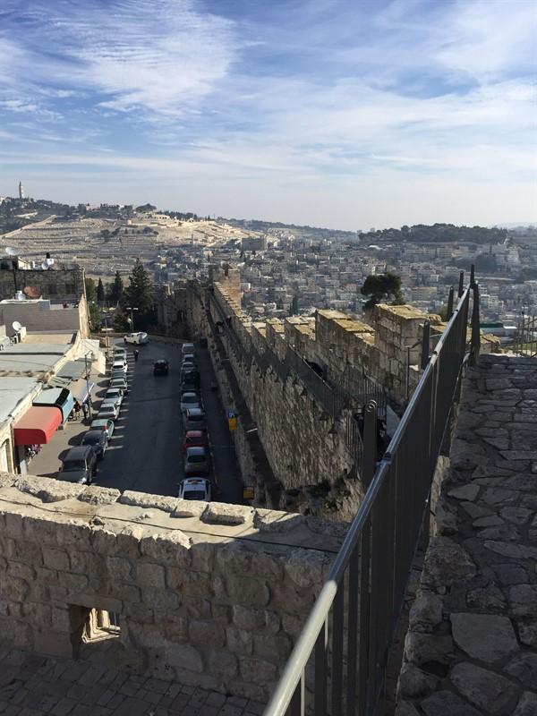 שיקום טיילת חומות העיר העתיקה, ירושלים תמונה מספר 19