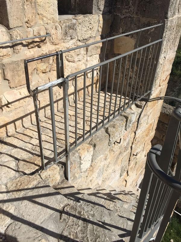 שיקום טיילת חומות העיר העתיקה, ירושלים תמונה מספר 18
