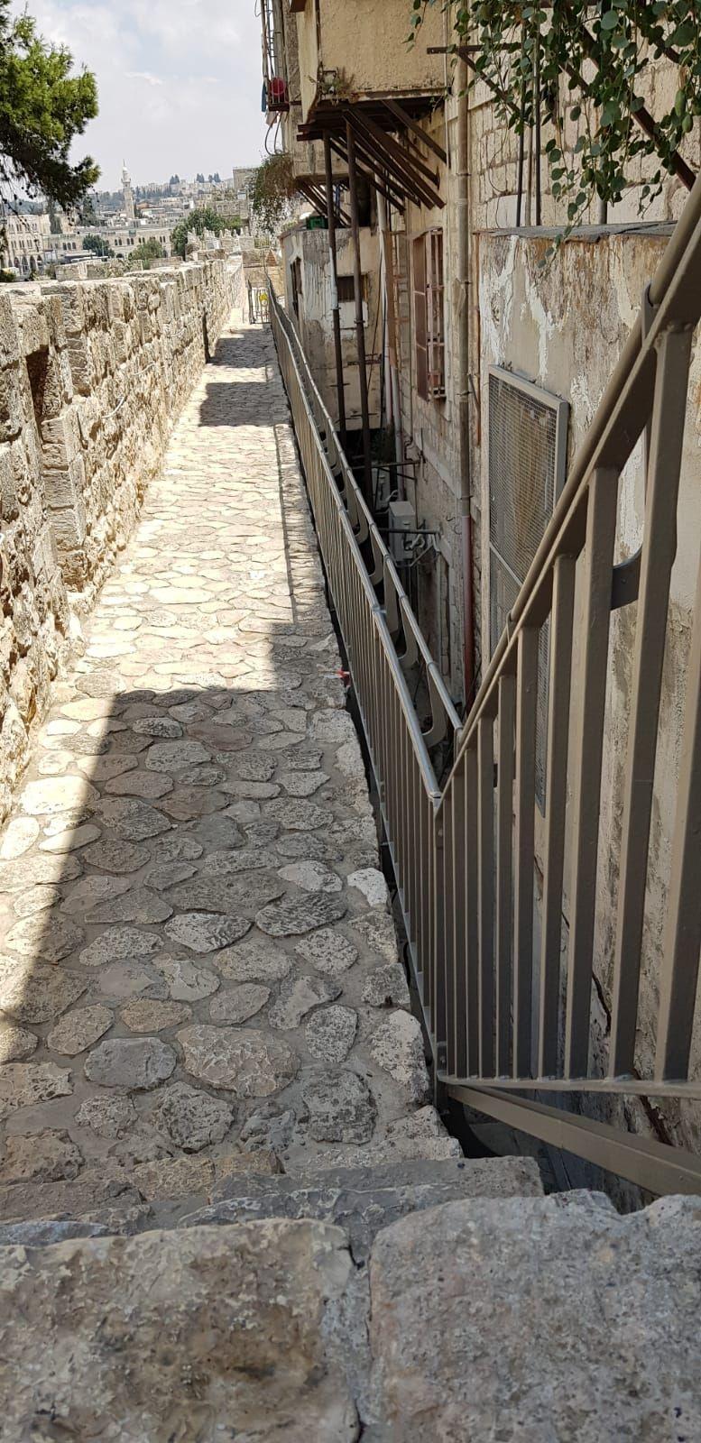 שיקום טיילת חומות העיר העתיקה, ירושלים תמונה מספר 3