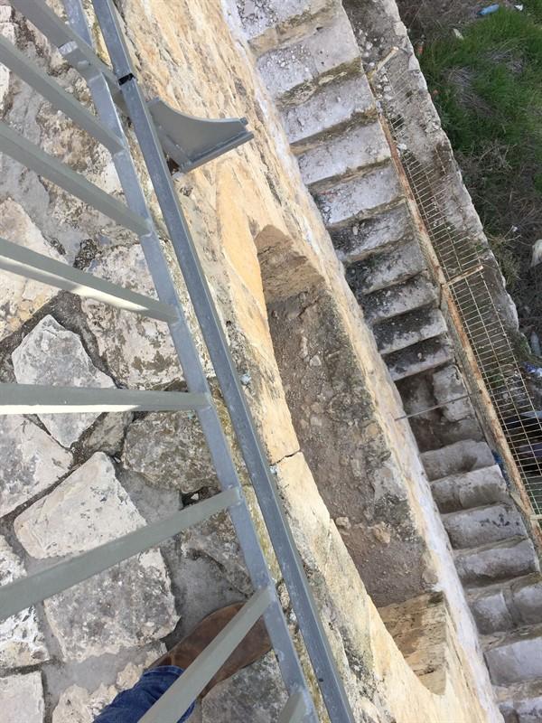שיקום טיילת חומות העיר העתיקה, ירושלים תמונה מספר 17