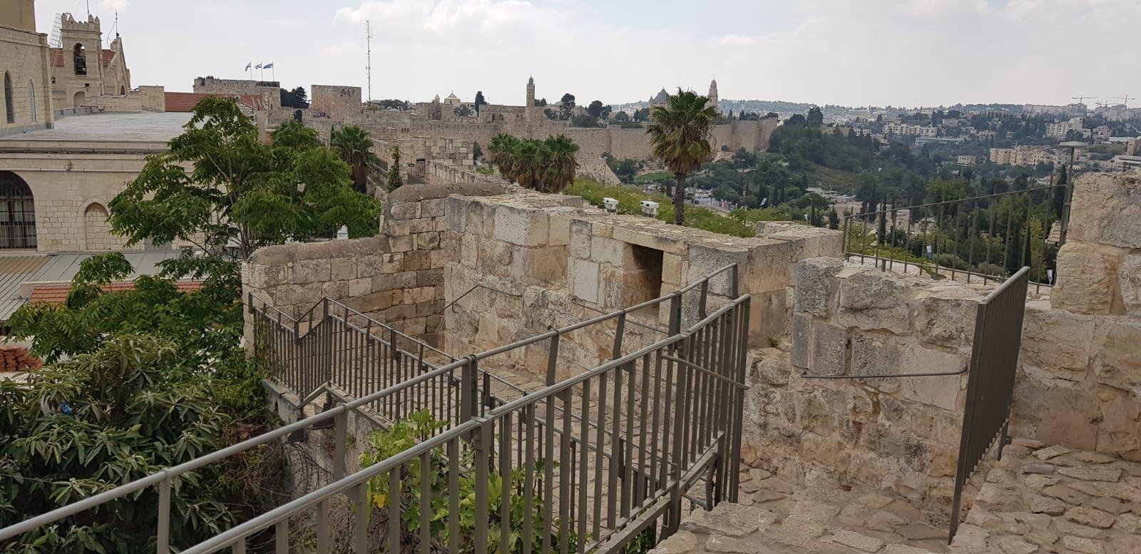 שיקום טיילת חומות העיר העתיקה, ירושלים תמונה מספר 2