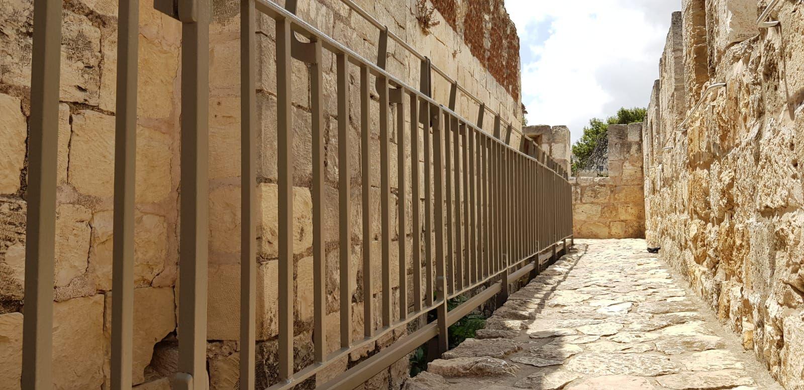 שיקום טיילת חומות העיר העתיקה, ירושלים תמונה מספר 1