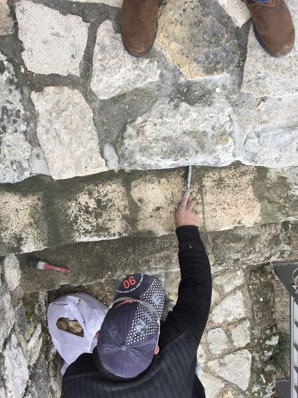 שיקום טיילת חומות העיר העתיקה, ירושלים תמונה מספר 12