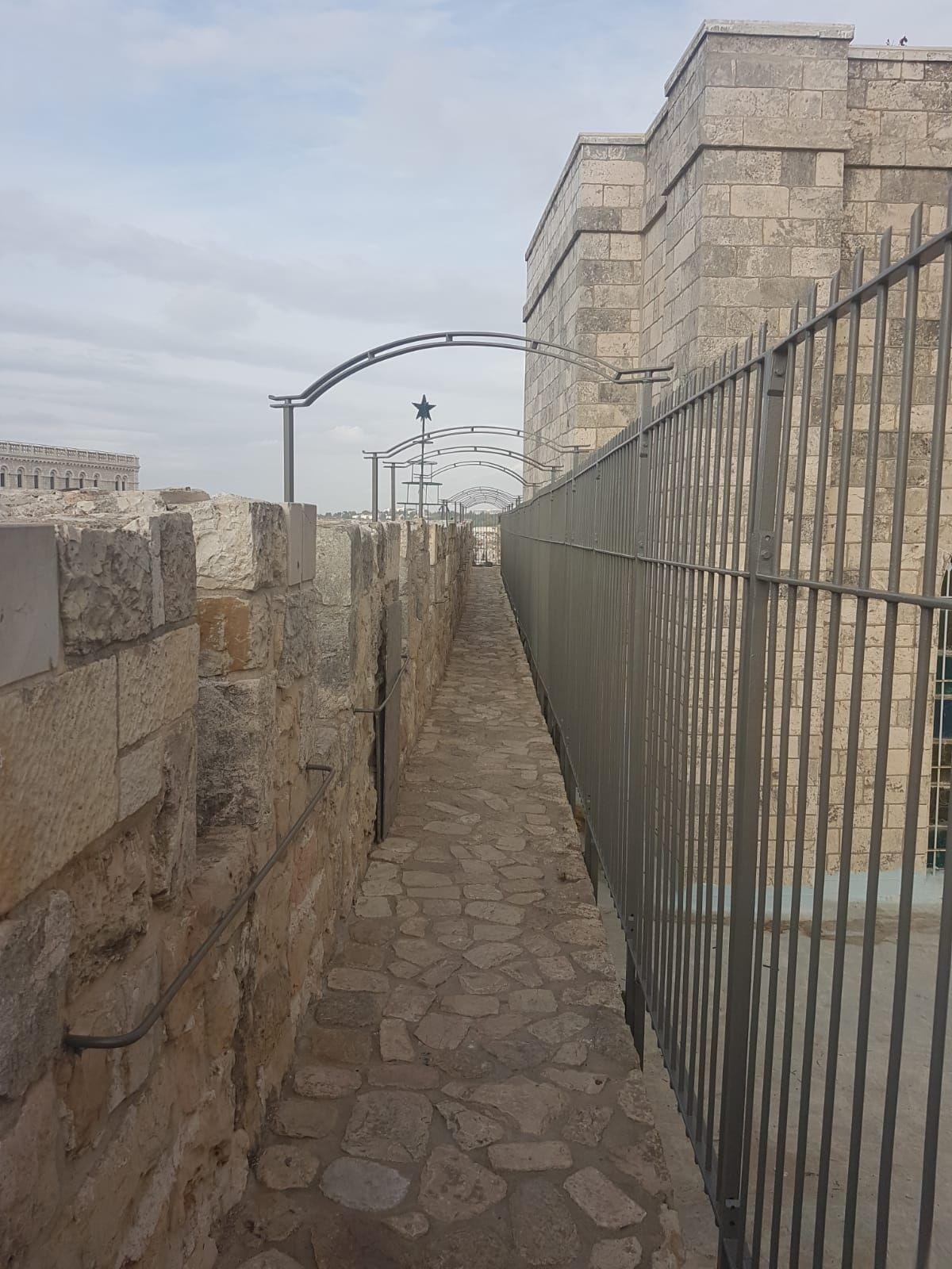 שיקום טיילת חומות העיר העתיקה, ירושלים תמונה מספר 5