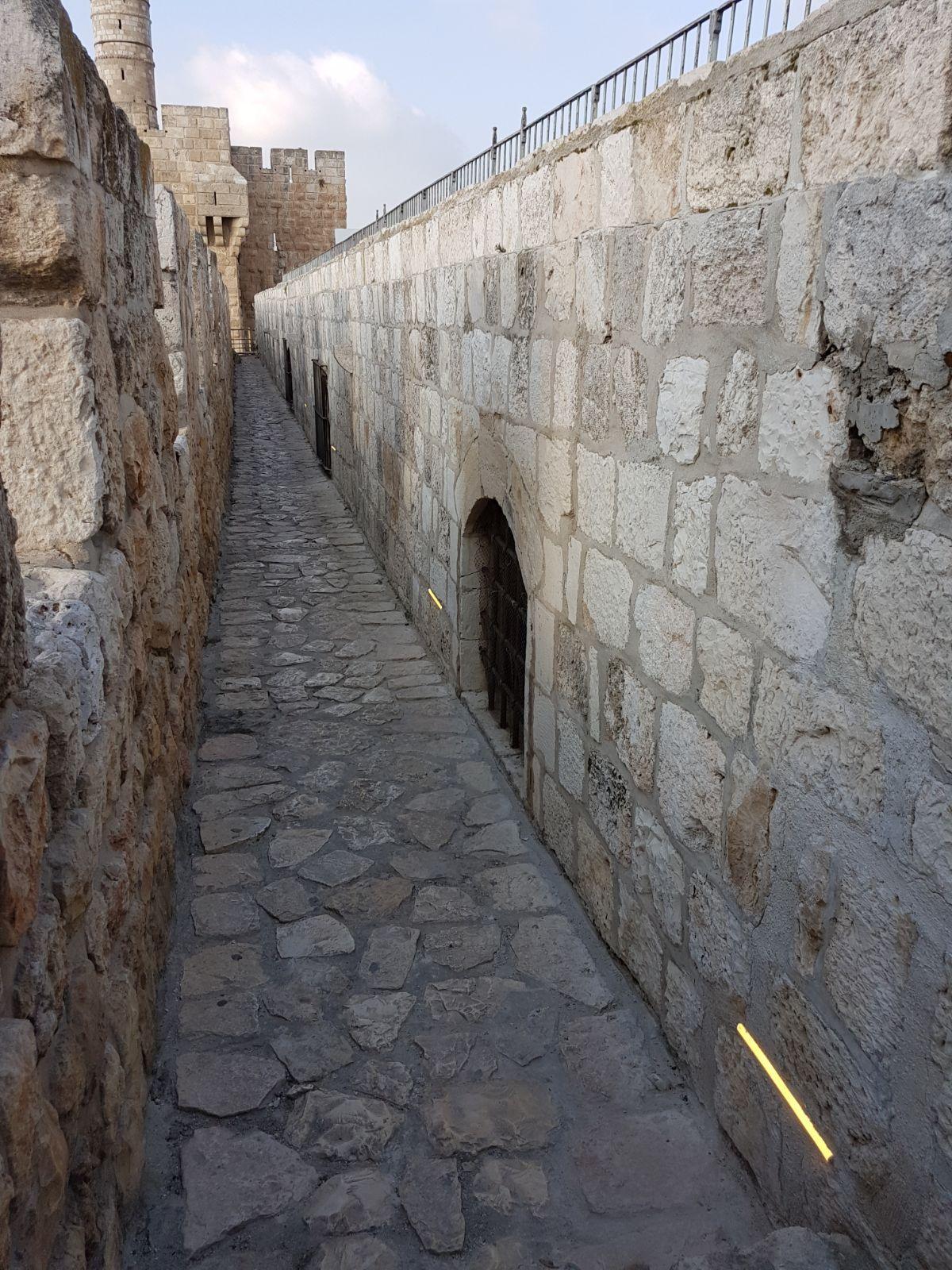 שיקום טיילת חומות העיר העתיקה, ירושלים תמונה מספר 29