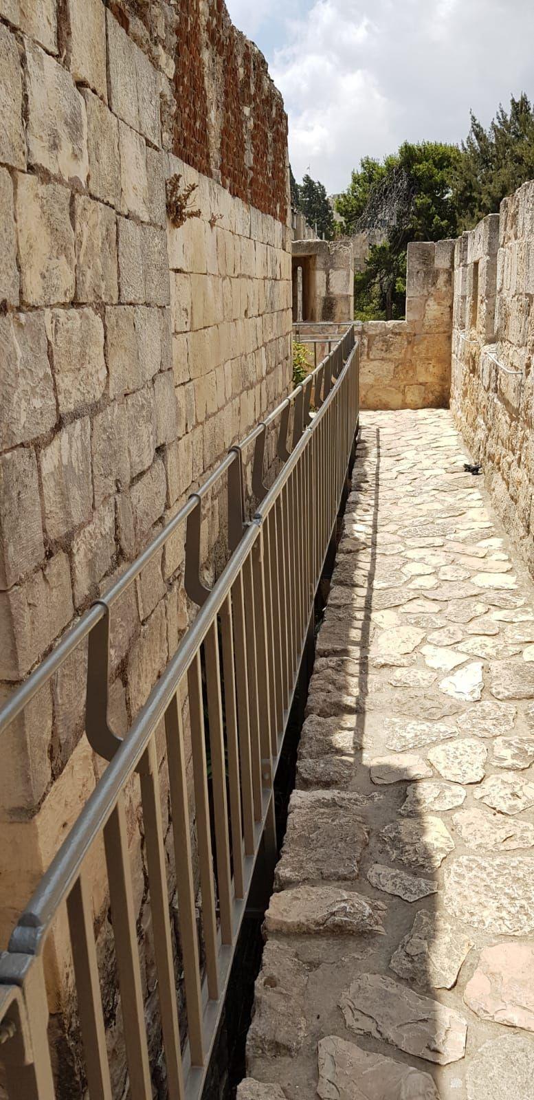 שיקום טיילת חומות העיר העתיקה, ירושלים תמונה מספר 4