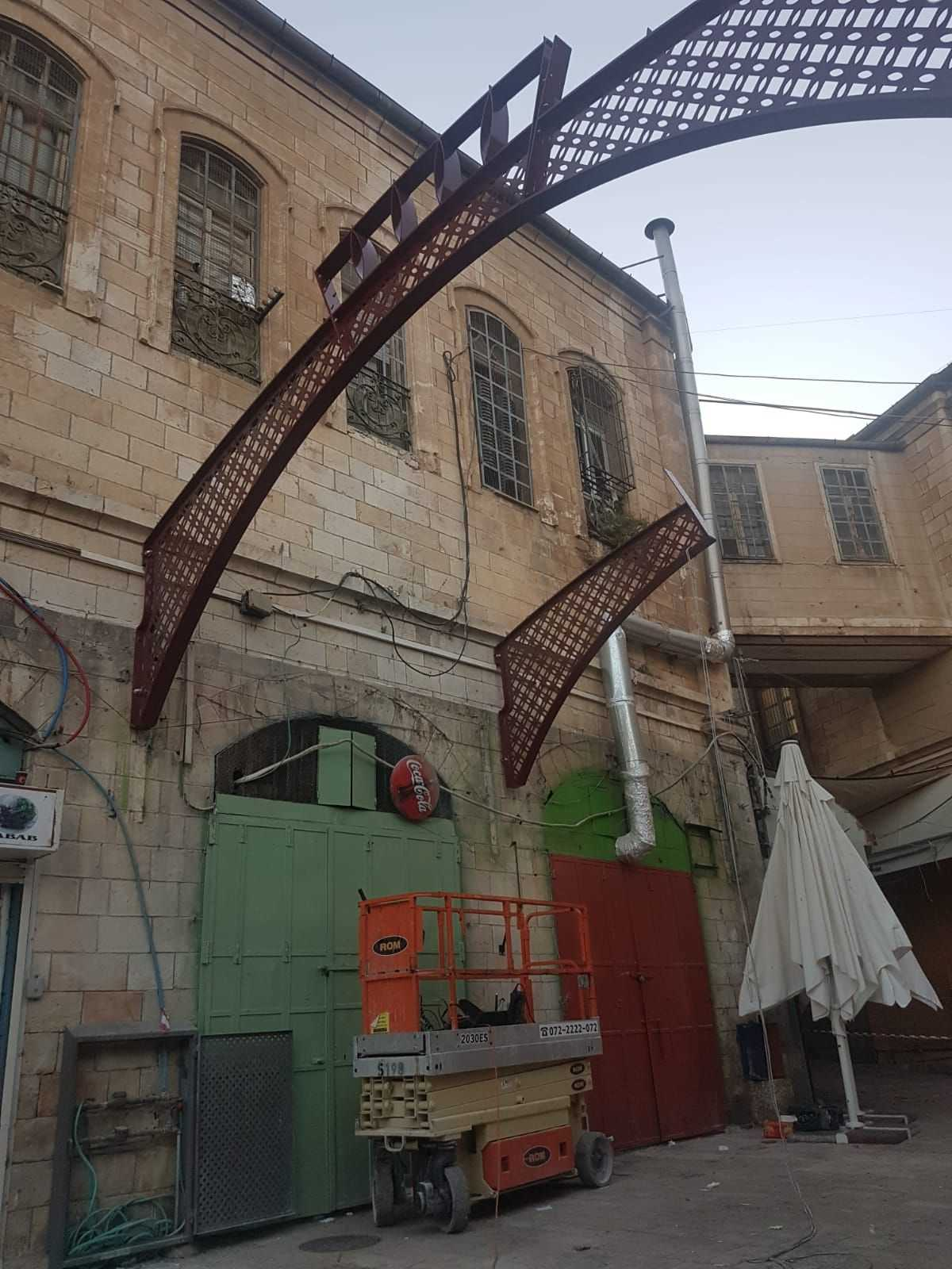 קירוי גגונים ברחוב המוריסטן תמונה מספר 5