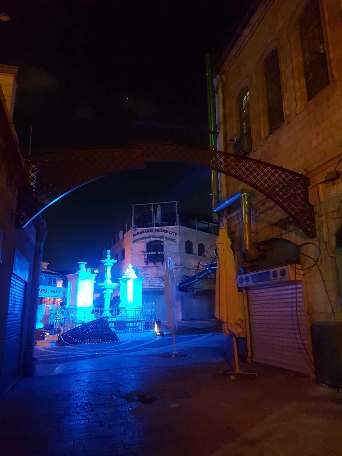 קירוי גגונים ברחוב המוריסטן תמונה מספר 6