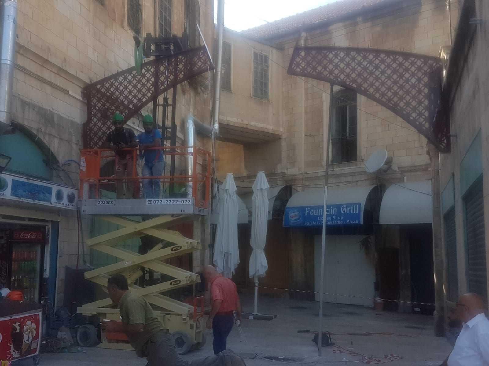 קירוי גגונים ברחוב המוריסטן תמונה מספר 7